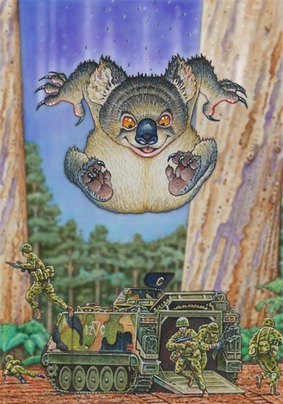 Drop Bear - Australian Museum