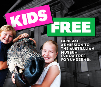 Kids Free at the Australian Museum Sydney