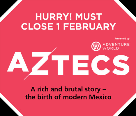 Aztecs - A rich and brutal story - the birth of modern Mexico