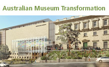 Stage One: Australian Museum Transformation