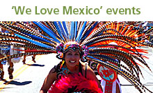 'We Love Mexico' events