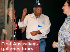 Weekly First Australians galleries guided tours