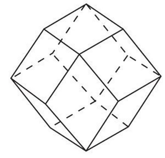 crystal group 1 cubic dodecahedron australian museum