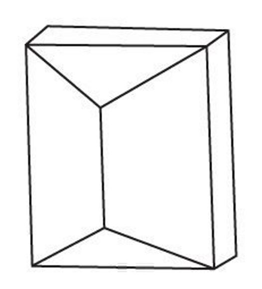 Crystal group 2: Orthorhombic - Prism, Domes, 2 Pinacoids