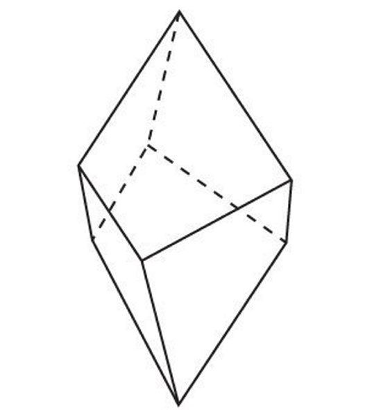 Crystal group 5: Trigonal - Trapezohedron