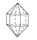 Crystal group 6: Hexagonal - Prism and Pyramid