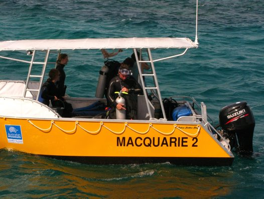 Macquarie 2, Lizard Island Research Station