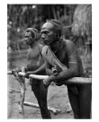 Men, Inauaia village, Mekeo area, Central Province, PNG