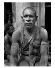 Man in mourning, Kaimare village, Gulf Province, PNG