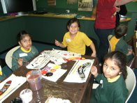 Students in Indigenous Art Workshop 2