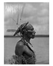 Returning from ceremony, Kerewa village, Gulf Province, PNG