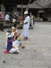 Worshippers and tourists at Pura Tirta Empul