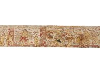 Pan and Men Brayut story, Balinese painting E74195B