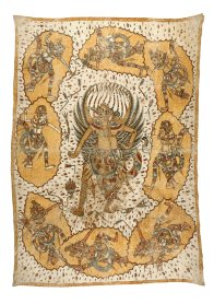 Garuda and the Gods of Eight Directions: Balinese painting E74225