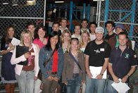 University of Newcastle student tour, 2005