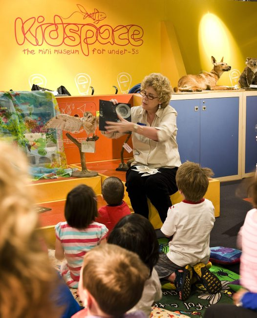 A story in kidspace