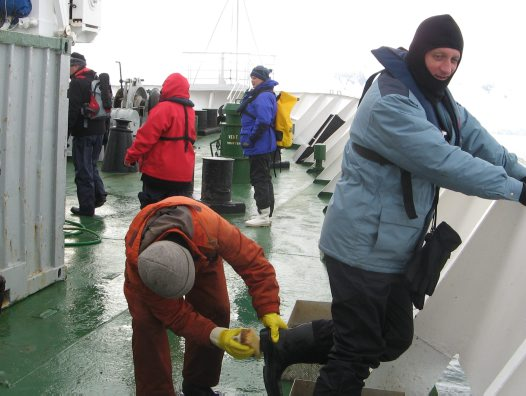 AM Members Trip to Antarctica: on board the ship