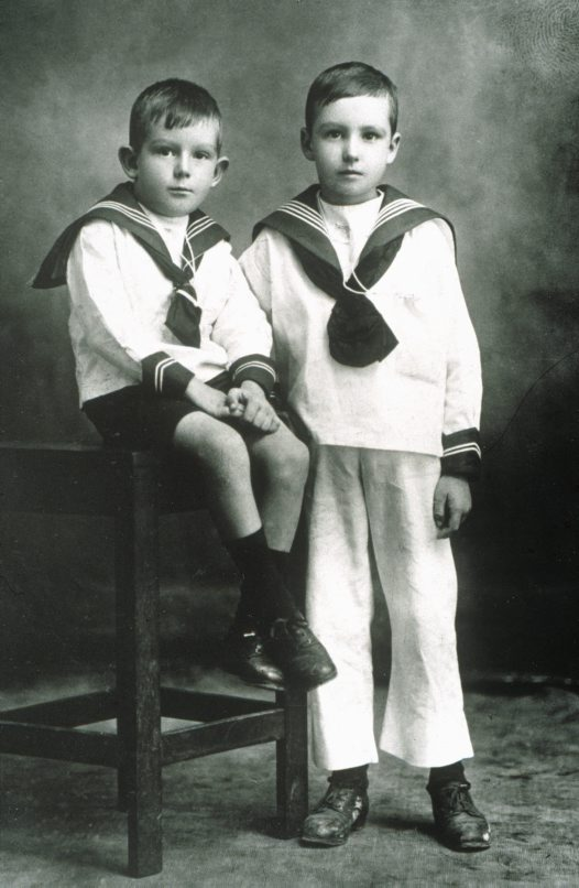 Albert Chapman and his brother