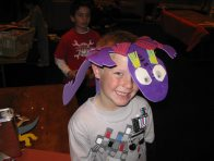 Dinosnore craft activity 2009