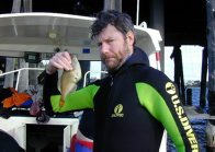Mark with Yellowfin Leatherjacket