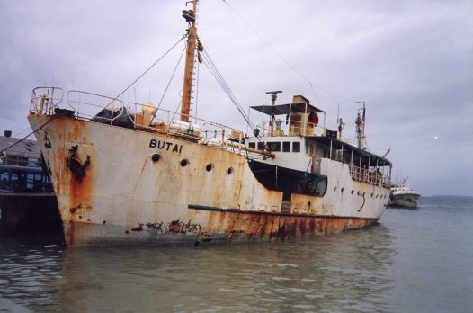 MV Butai, Solomon Islands, 1998