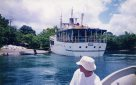 Freshly painted MV Butai, Solomon Islands, 1998