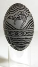 Carved Emu Egg - E085856-001 Badger Bates #2