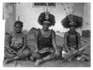 Three young women, Manono, Samoa