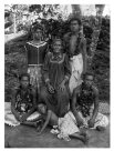 Sieni and young people, Satupa'itea, Savai'i, Samoa