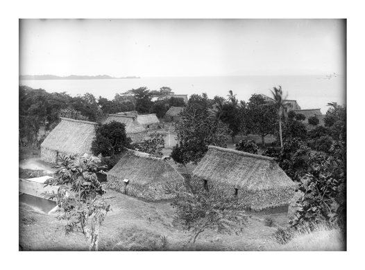 View of Lasakan, Bau, Fiji