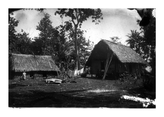 Mission house, Kinawanua, New Britain, PNG
