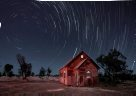 Eureka Prize: Star trail over Lightning Ridge