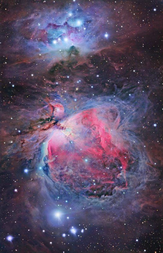 Eureka Prize: A kaleidoscope of dust and gas in Orion