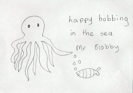 My Blobby Drawing - 9