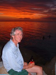 Jeff Leis at Lizard Island