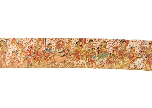 Death of King Wirata's Sons, Balinese painting E74209B
