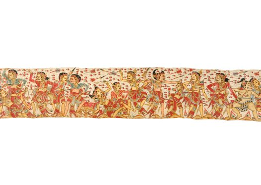 Death of King Wirata's Sons, Balinese painting E74209E