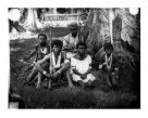 Warumwarum and family, Duke of York Island, PNG