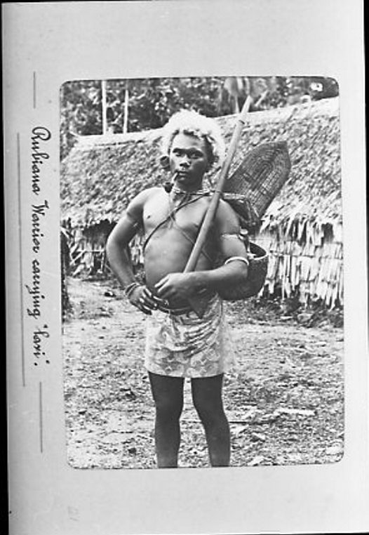 Man of Roviana, New Georgia, Western Solomon Islands