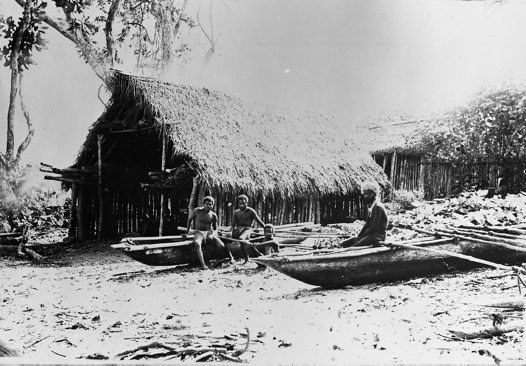 Reef Island canoes, Solomon Islands