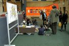 Tiwi painting in the foyer during NAIDOC Week 2010