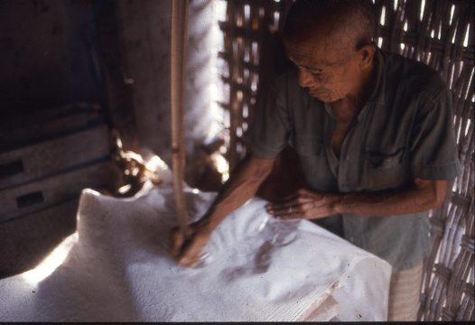Preparation of Cloth for Painting A