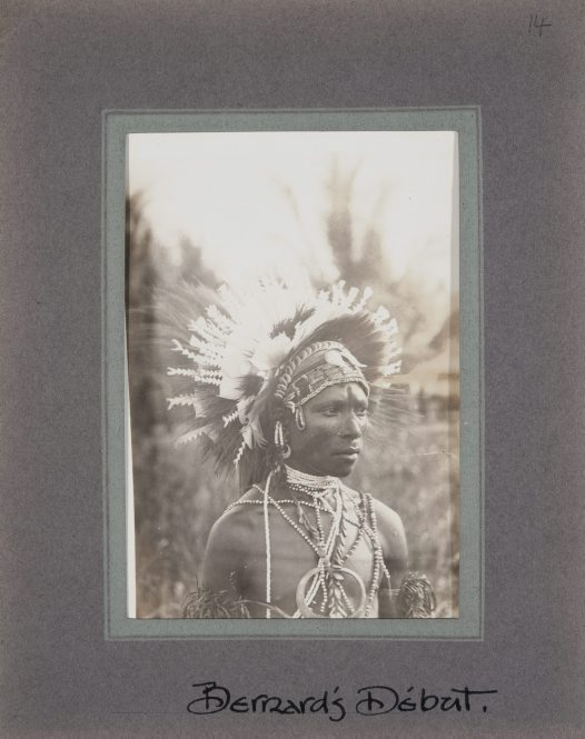 Portrait of Bernard, Collingwood Bay, Oro Province, PNG