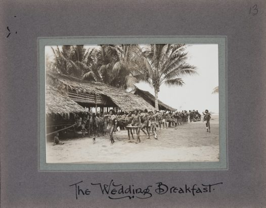 Wedding Breakfast, Collingwood Bay, Oro Prov, PNG