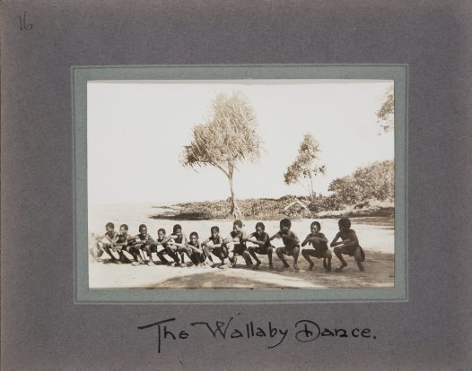 The Wallaby Dance, Collingwood Bay, Oro Province, PNG