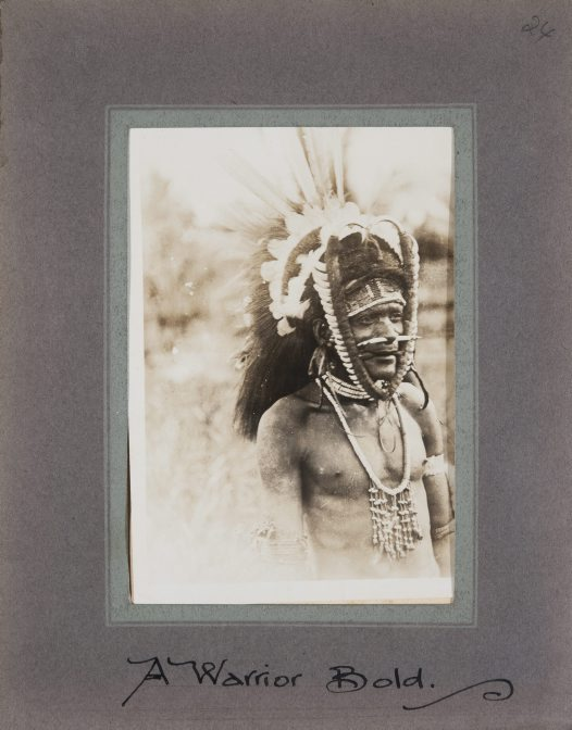 A Warrior, Collingwood Bay, Oro Province, PNG