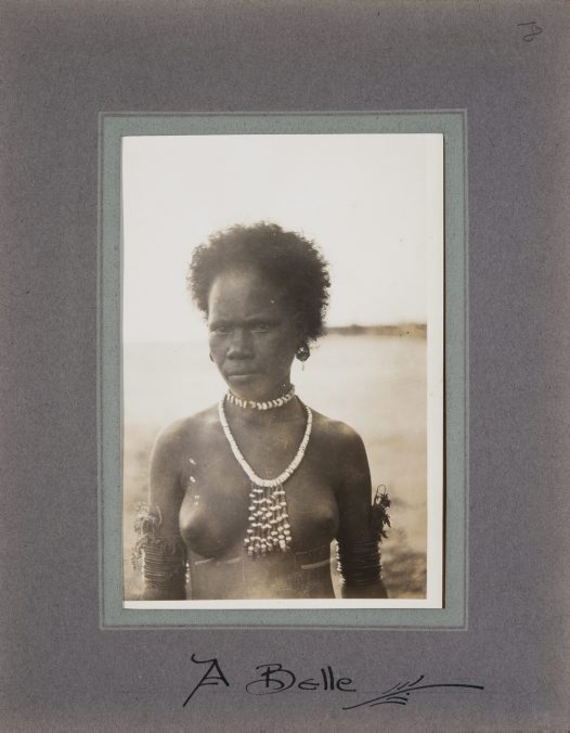 Young woman, Collingwood Bay, PNG