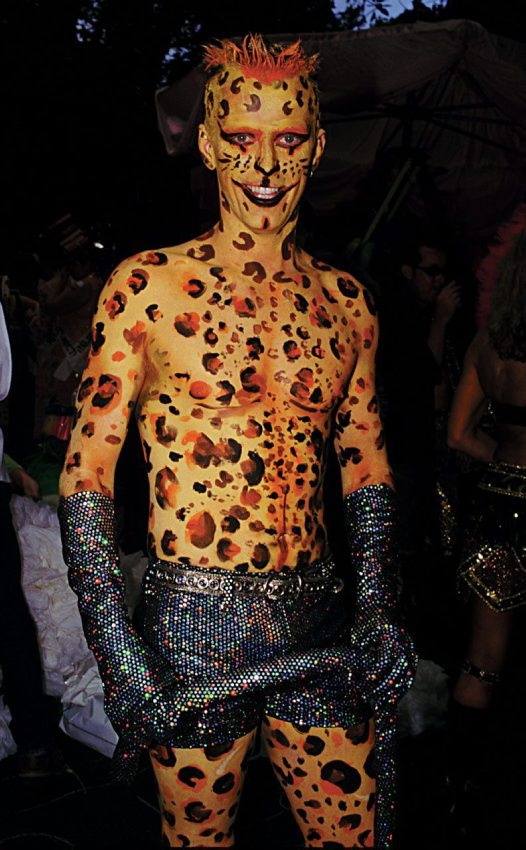 Body Painting from Sydney's Gay and Lesbian Mardi Gras Parad.