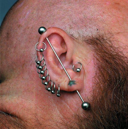 Ear bar