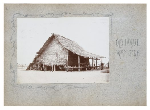 Old House Wanigela, Oro Province PNG